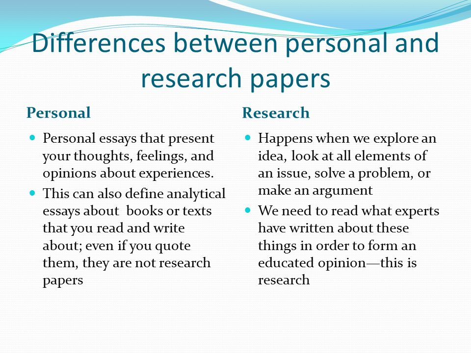 Difference Thesis Dissertation