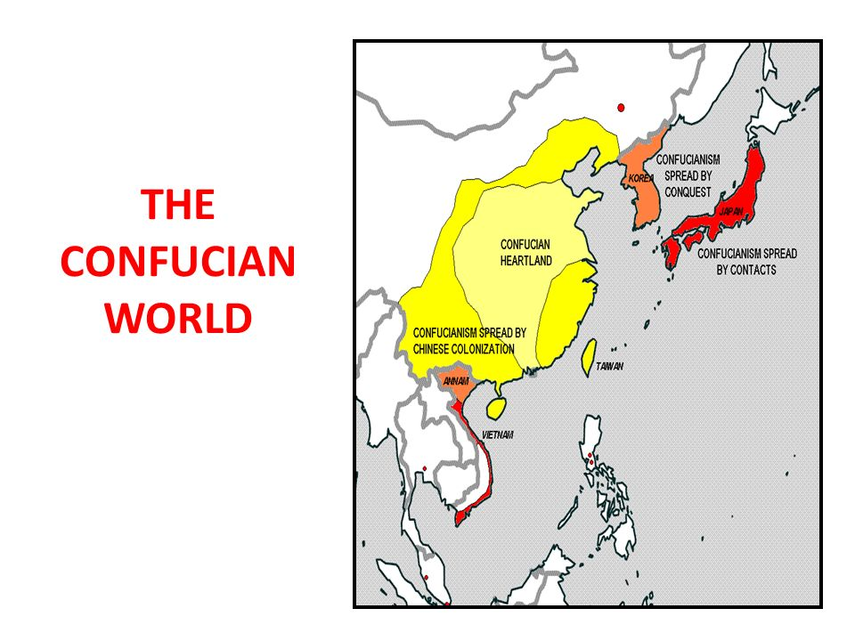 THE CONFUCIAN WORLD
