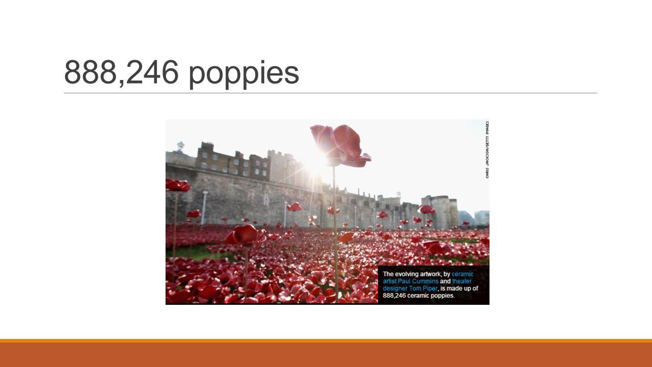 888,246 poppies