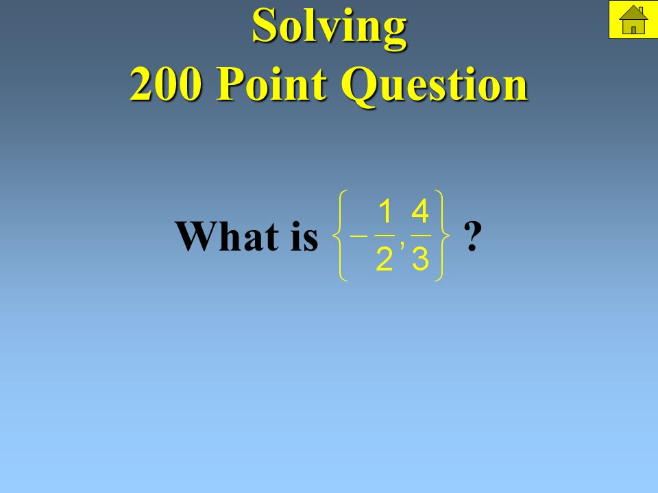 Solving 200 Points Solve: The Question