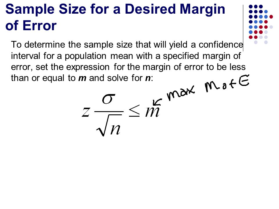 standard deviation and confidence interval solve The last parameters we need to find confidence intervals for are the population variance (σ 2) and standard deviation (σ) there are many instances where we might.