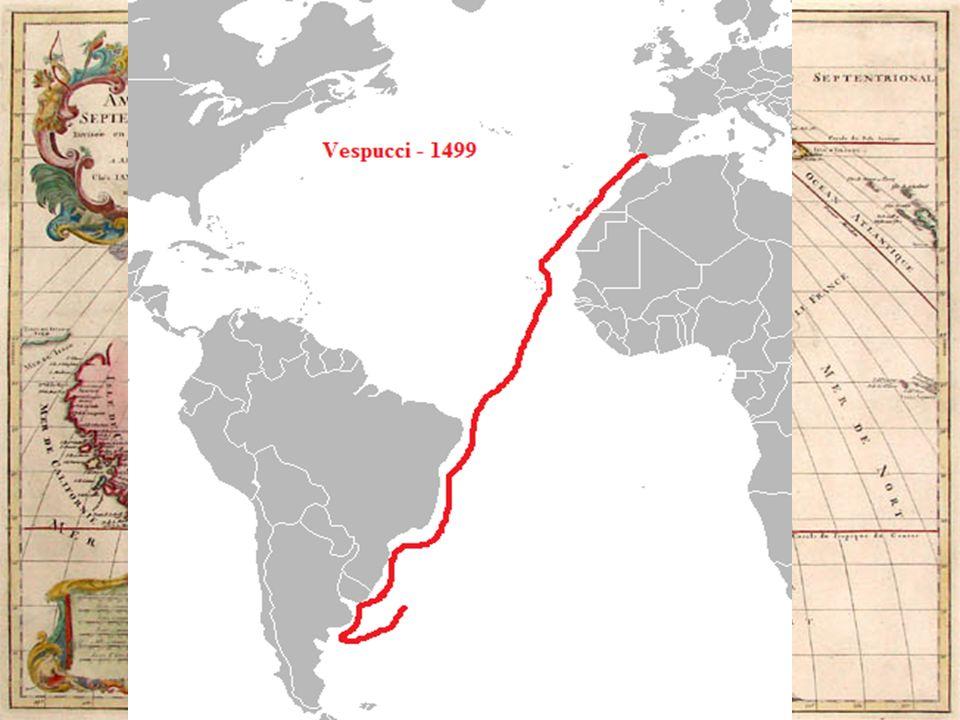 The Explorers Of The New World Amerigo Vespucci Italian Explorer - Portugal map west coast