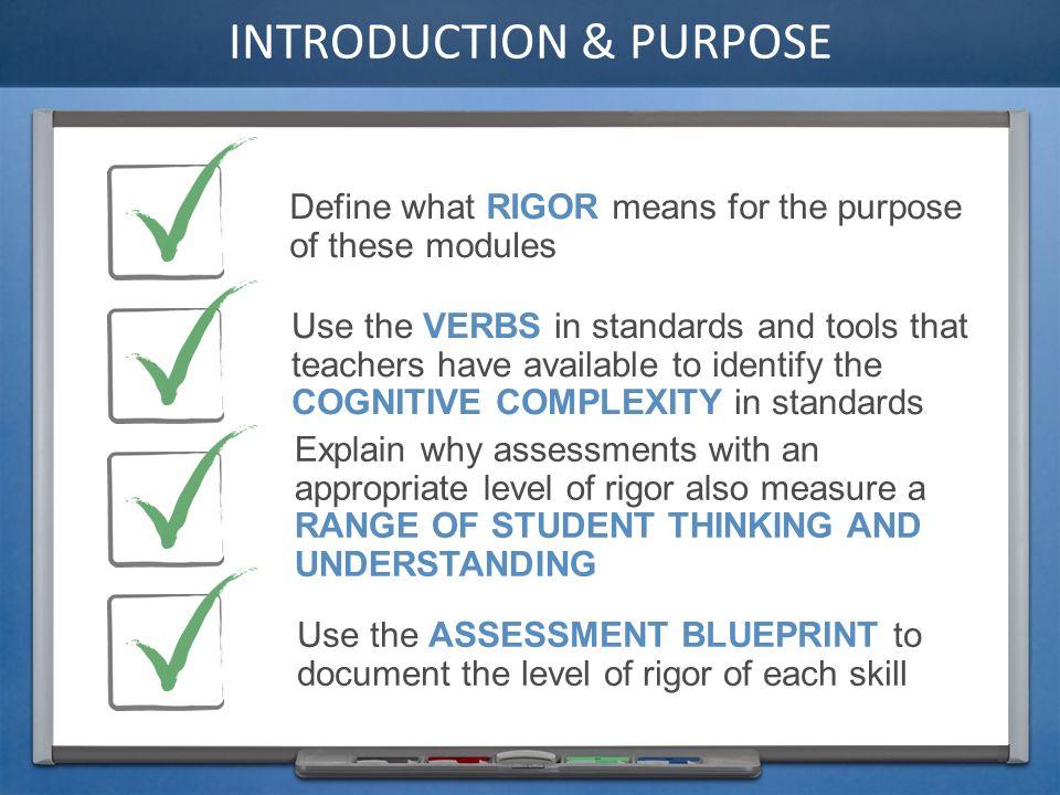 Rigor key concepts introduction purpose define what rigor means 3 introduction purpose define malvernweather Gallery