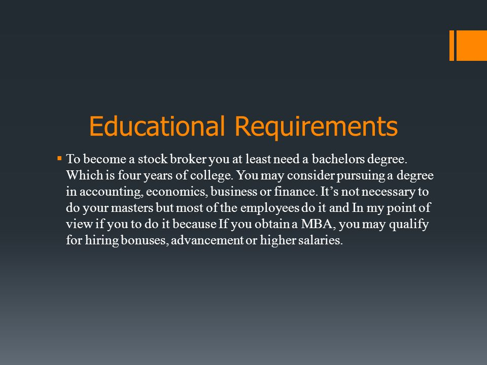 Stock Broker Usman Abrar. Michigan Colleges and Universities  In ...