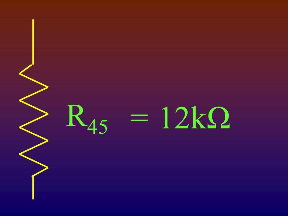 R 45 12kΩ=