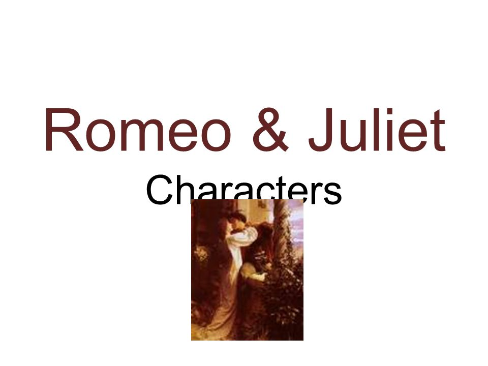 Help on Romeo and Juliet Character Traits please?