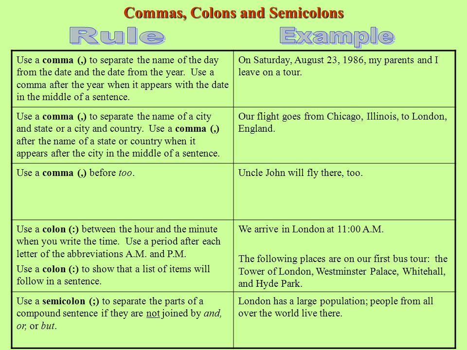 Capitalizing And Punctuating Sentences Mrs Susan DeGraw English - World first language list