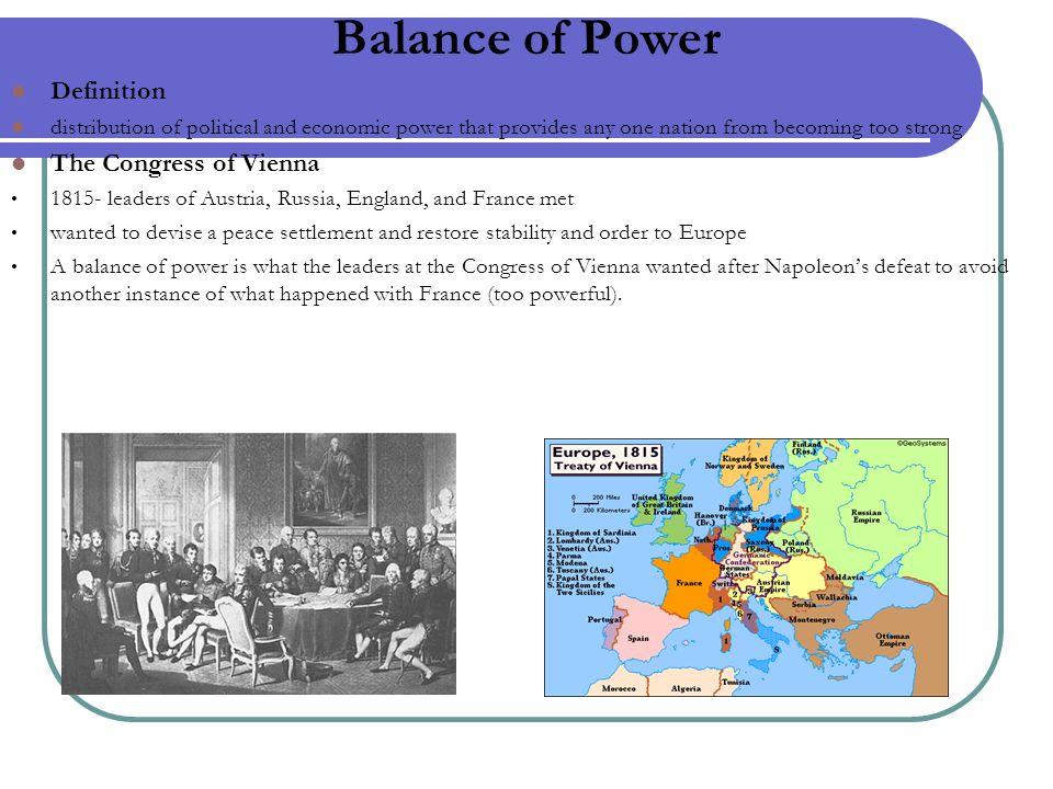 4 Balance Of Power Definition ...
