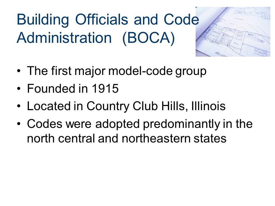 the history of building codes and