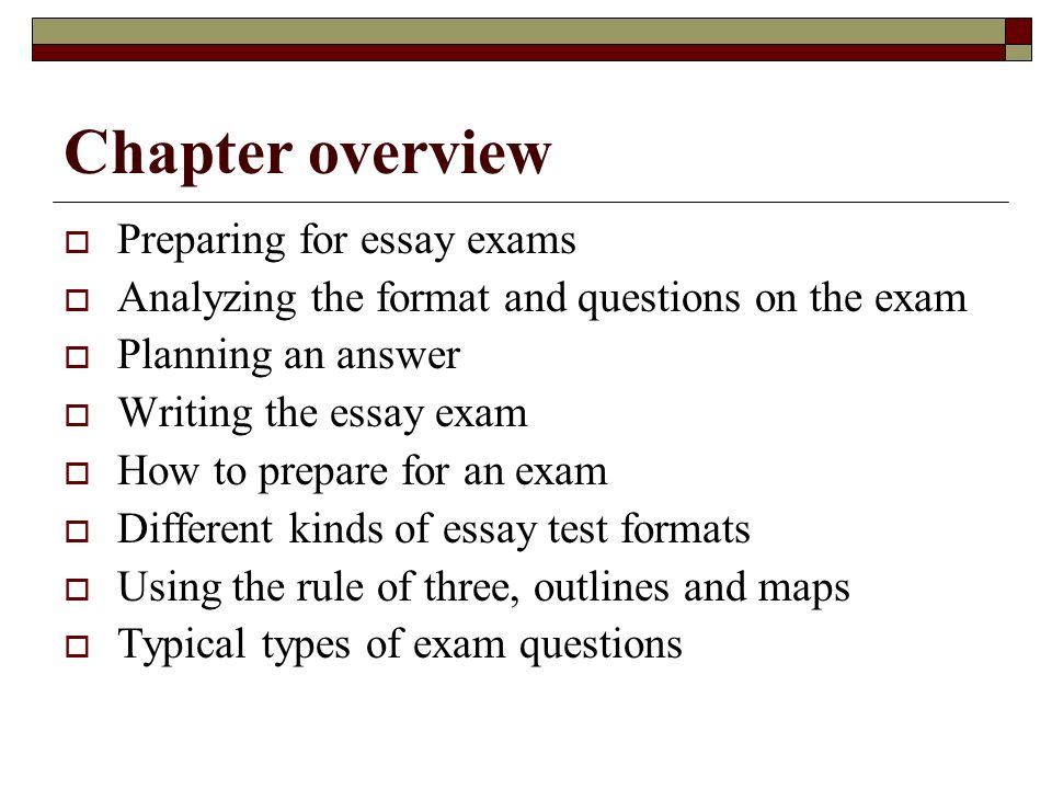 example of academic essay writing
