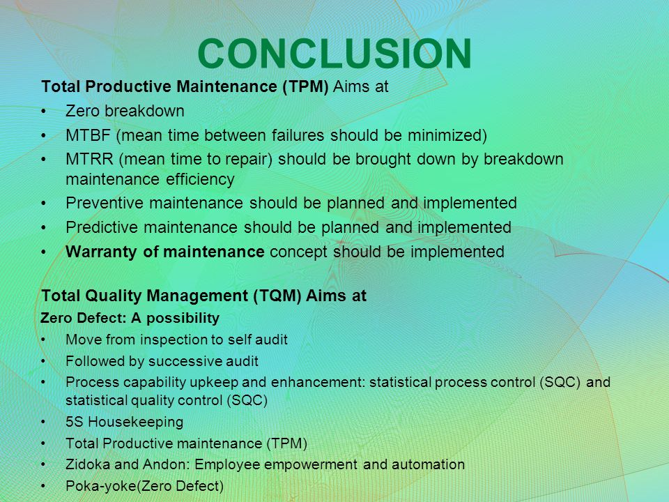 prof a das mimts concept ldquo unless the machine and equipment are 26 conclusion