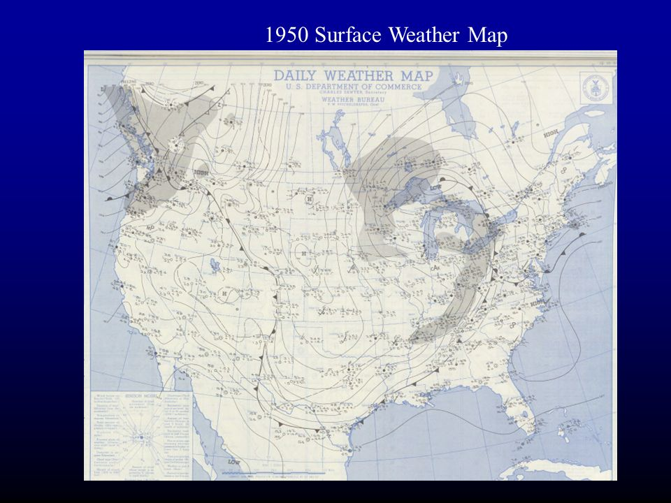 Surface Weather Map aka Surface Synoptic Chart ppt download