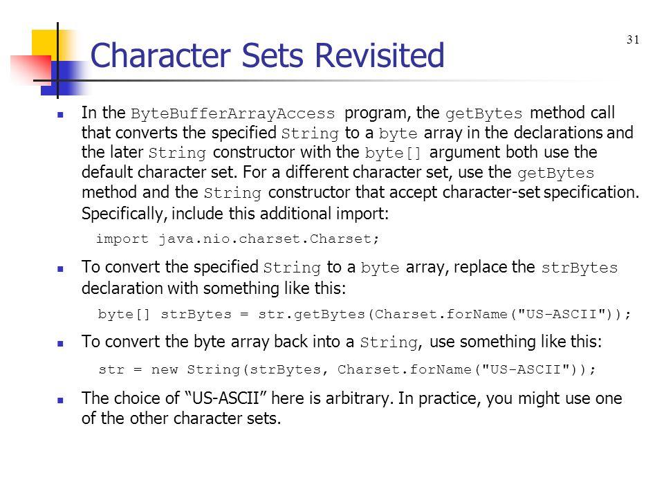 sample byte array