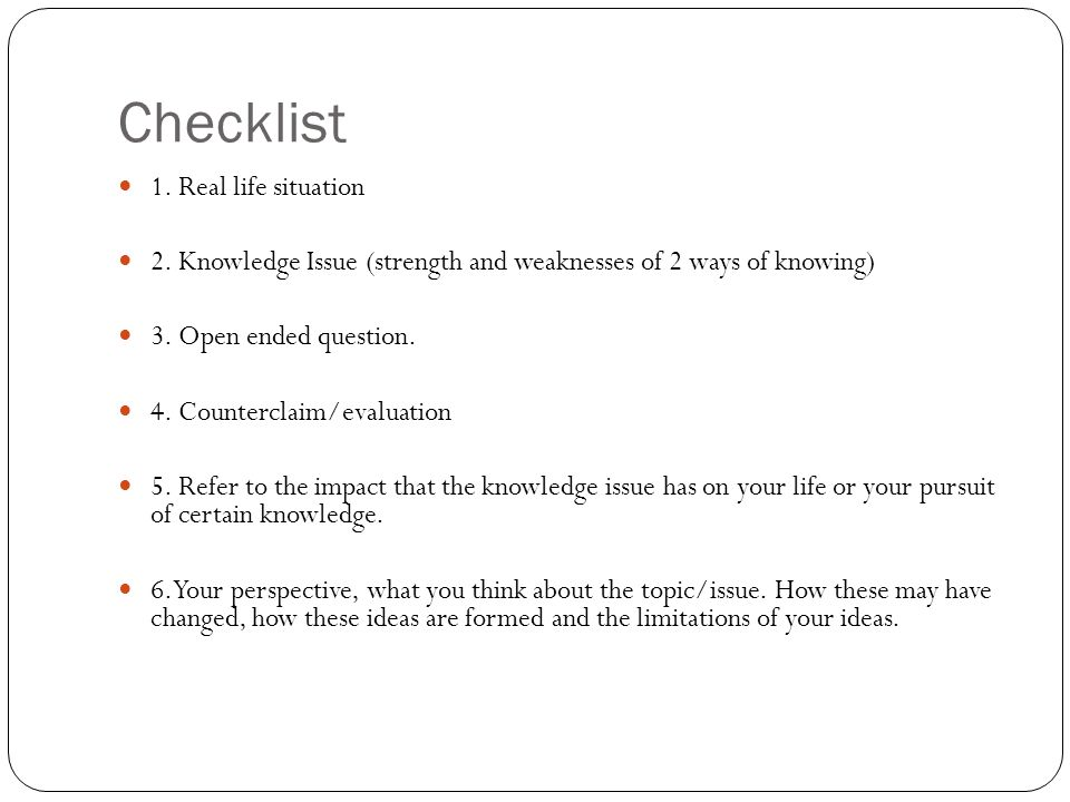 tok essay plan structure Writing a theory of knowledge (tok) essay is one of those to produce a good tok essay you need to have paid attention during your tok course work, taken an active part in tok discussions and learned the basics of writing but that doesn't mean there are no helpful hints to make a positive outcome more certain learning how to write the tok.