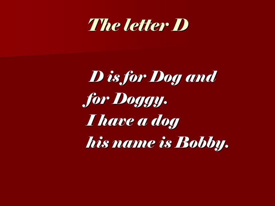 The letter C C is for Cat. C is for Cat. My cat is grey.