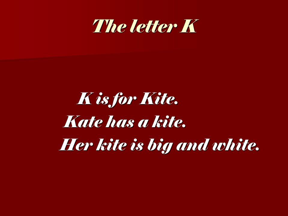 The letter I I is for I. I is for I. I am a boy.