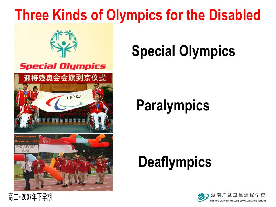 speciaale olypics deaflympics