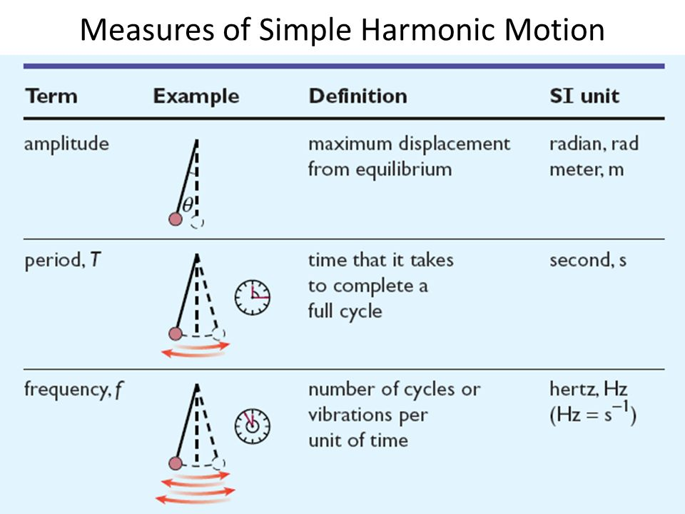 hooke's law and simple harmonic