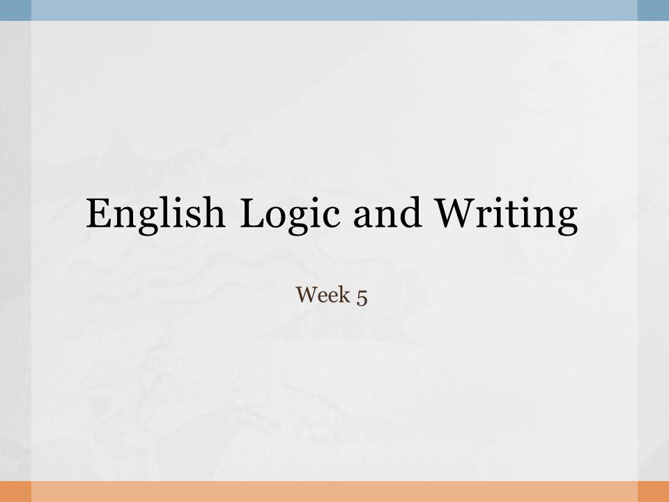English Writing Homework?