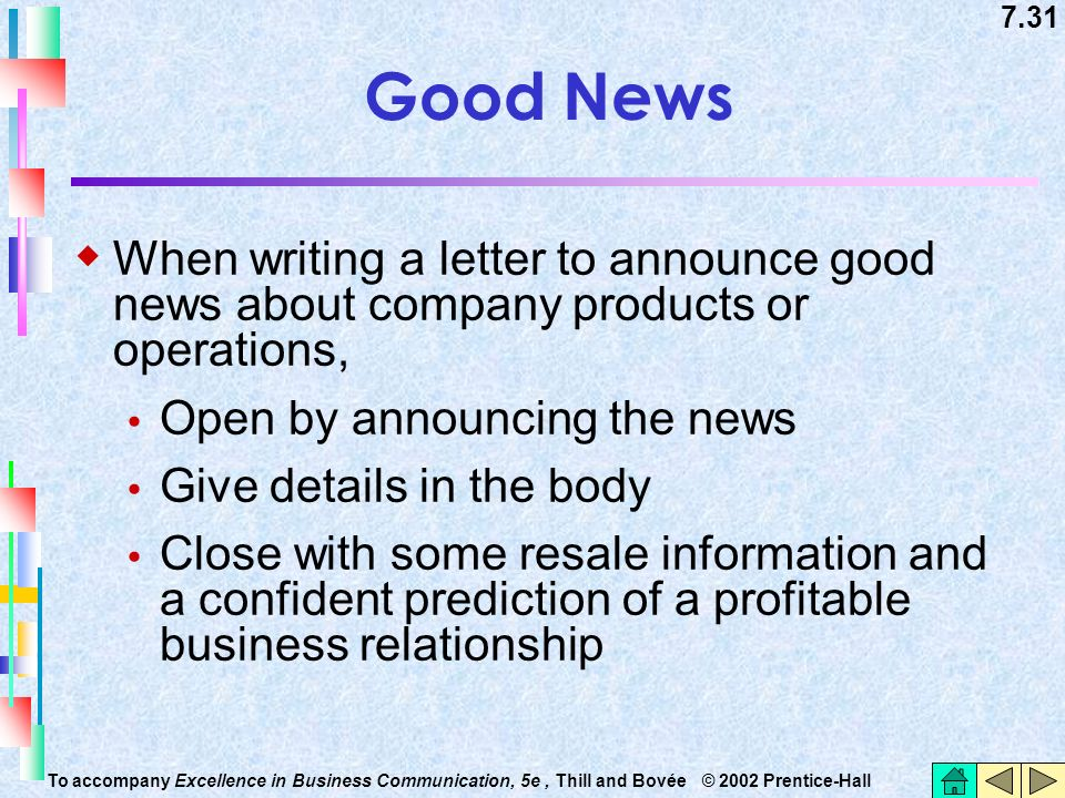 How to write a good news business letter gallery letter format good news business letter sample image collections reference how to write a good news business letter spiritdancerdesigns Gallery