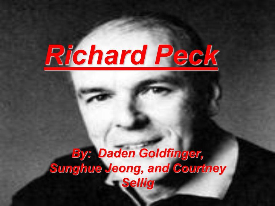 Biography richard peck author?