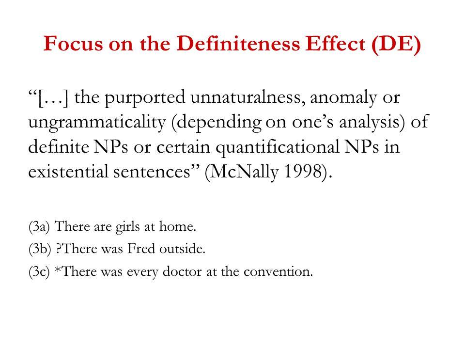 Micro-variation at the syntax- semantics interface Delia Bentley ...