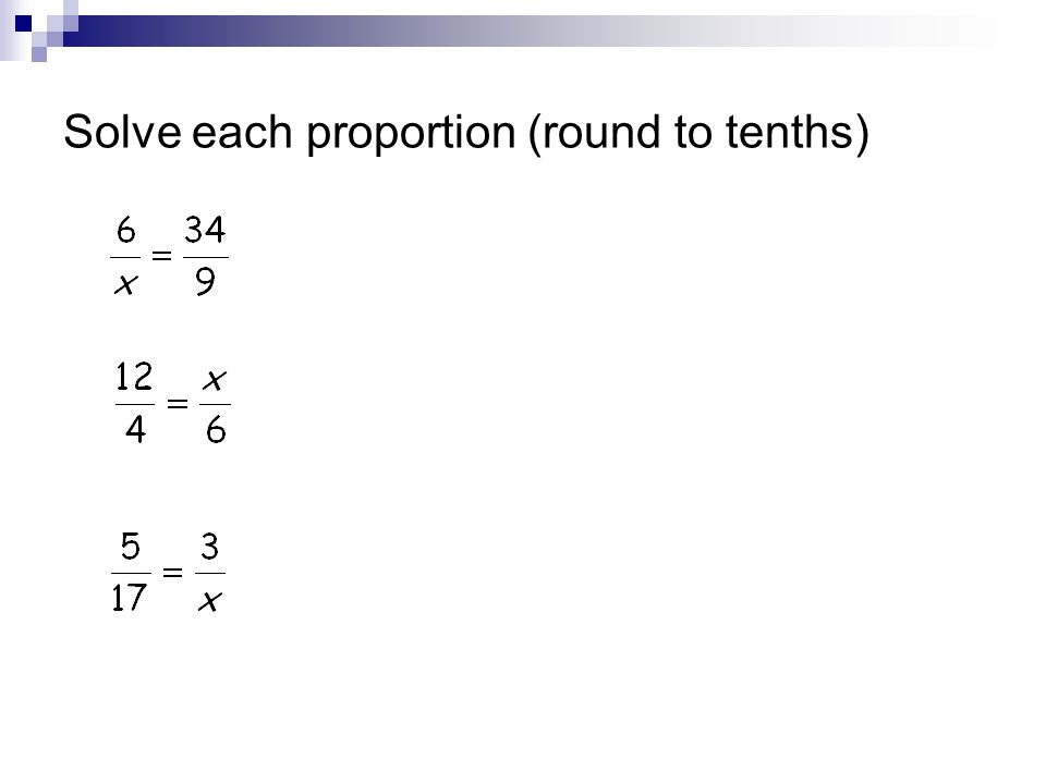 Unit 3 Quiz Review. Write each ratio as a fraction in simplest ...