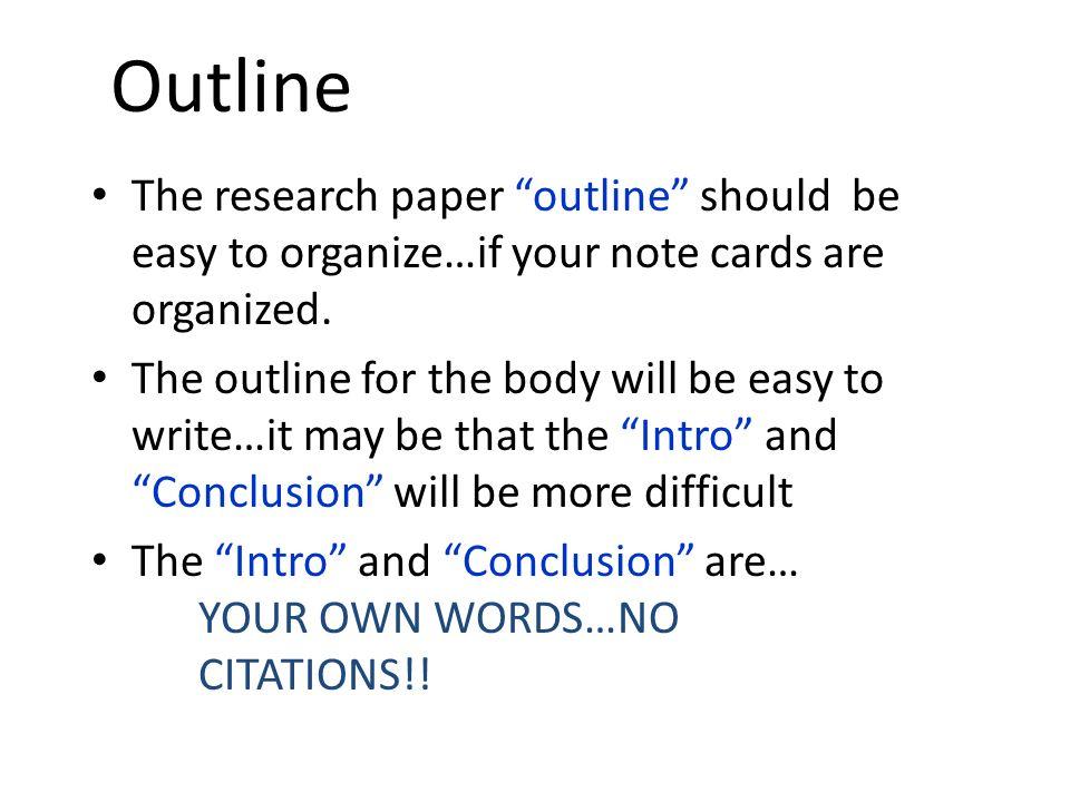 abbreviation term paper