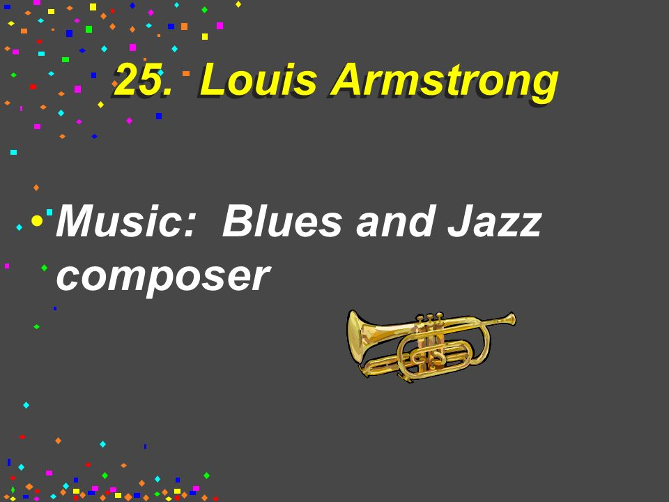 25. Duke Ellington Music: Blues and Jazz composer