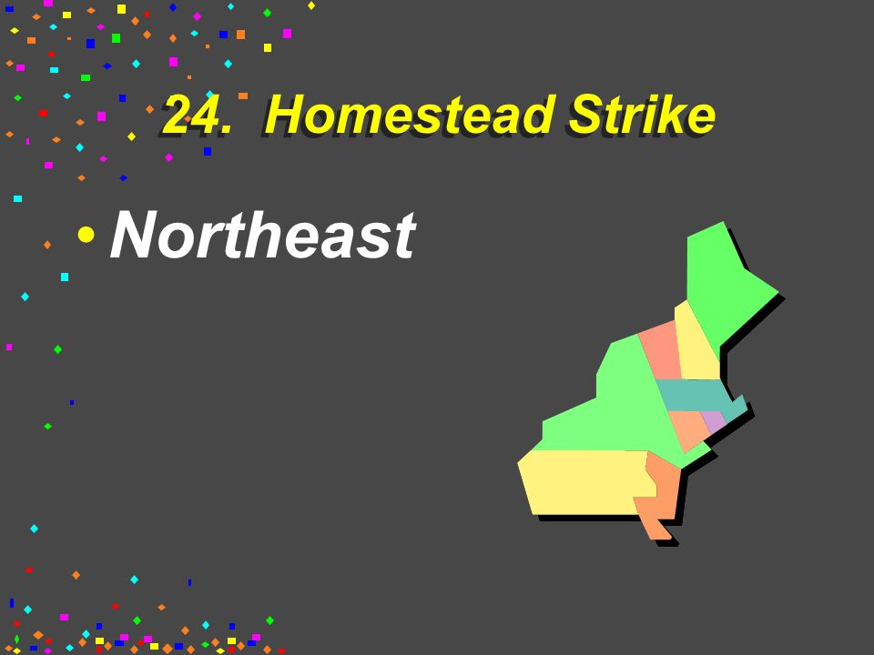23. Steel Industry Northeast