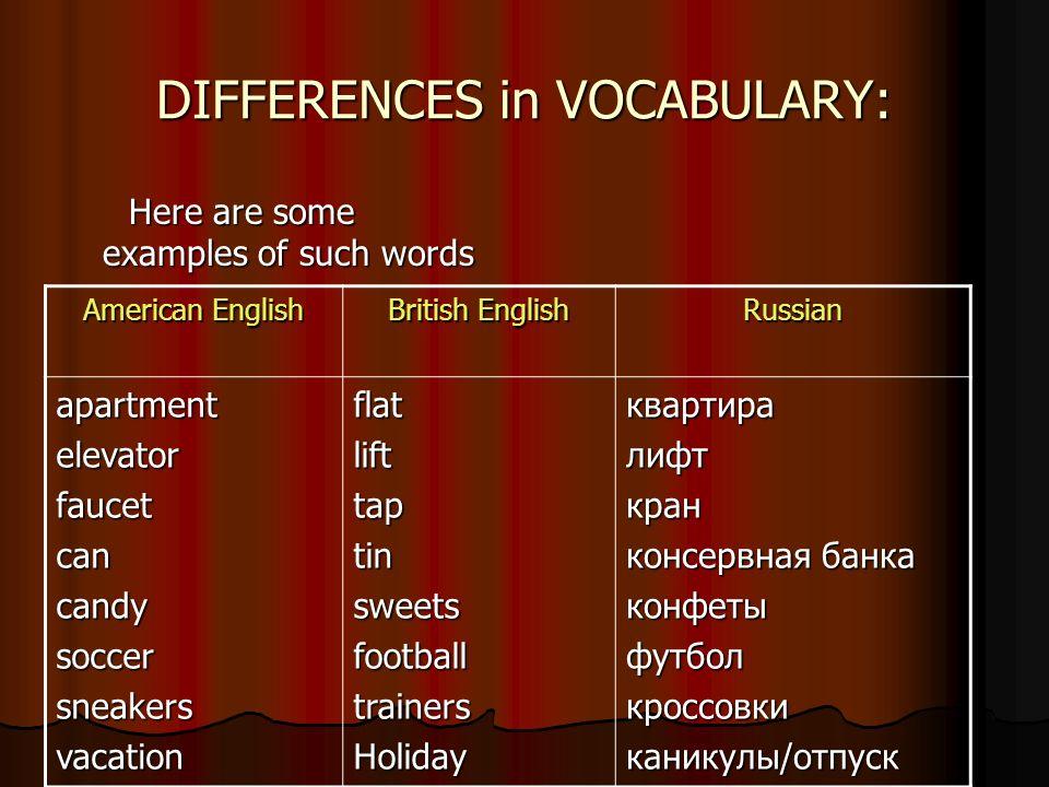 AMERICAN ENGLISH : a separate language? Done by: Bogomyakova Helen ...