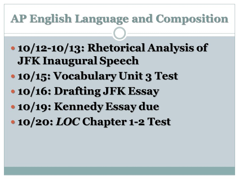 john f kennedy speech analysis essay