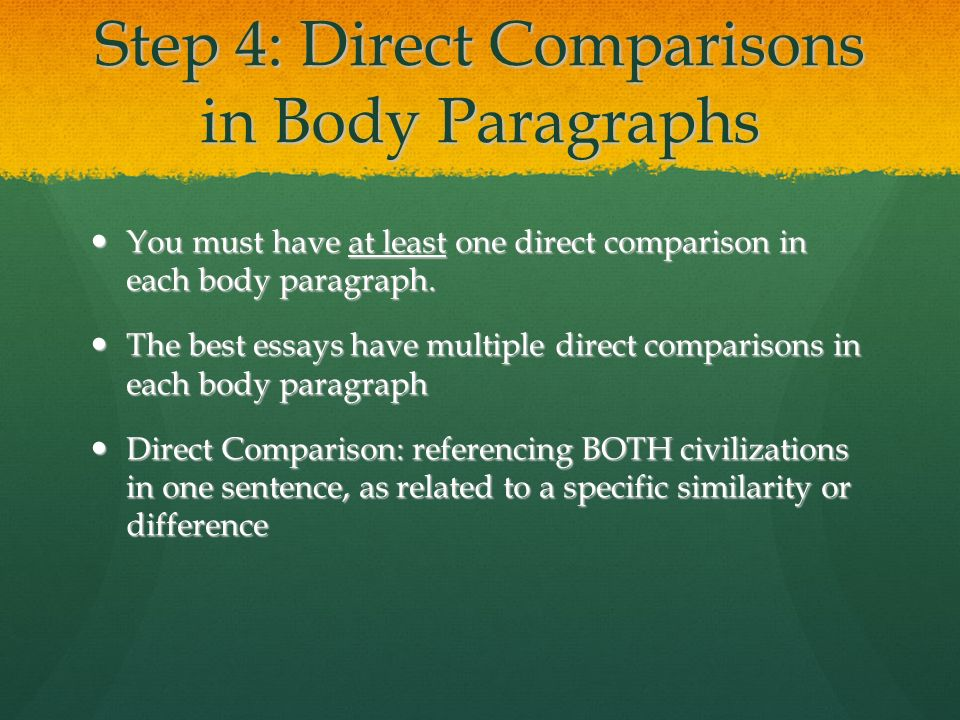 eng 3d1 comparison paragraph Compare contrast paragraph tanya grinnell writing a compare and contrast paragraph - duration: english lessons with adam.