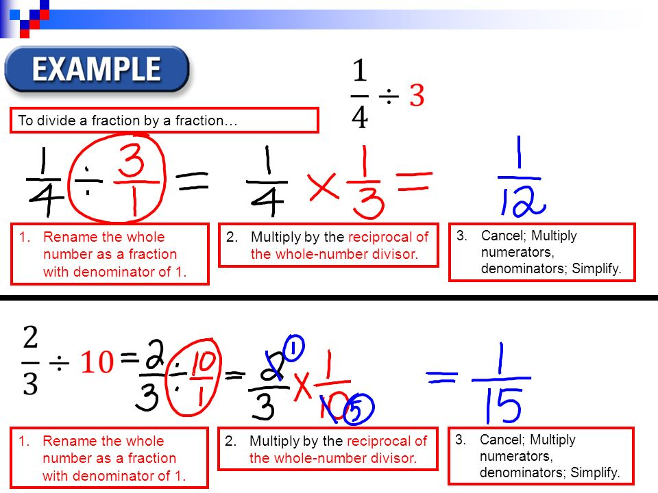 Reciprocal Fractions - Solve Math Easily