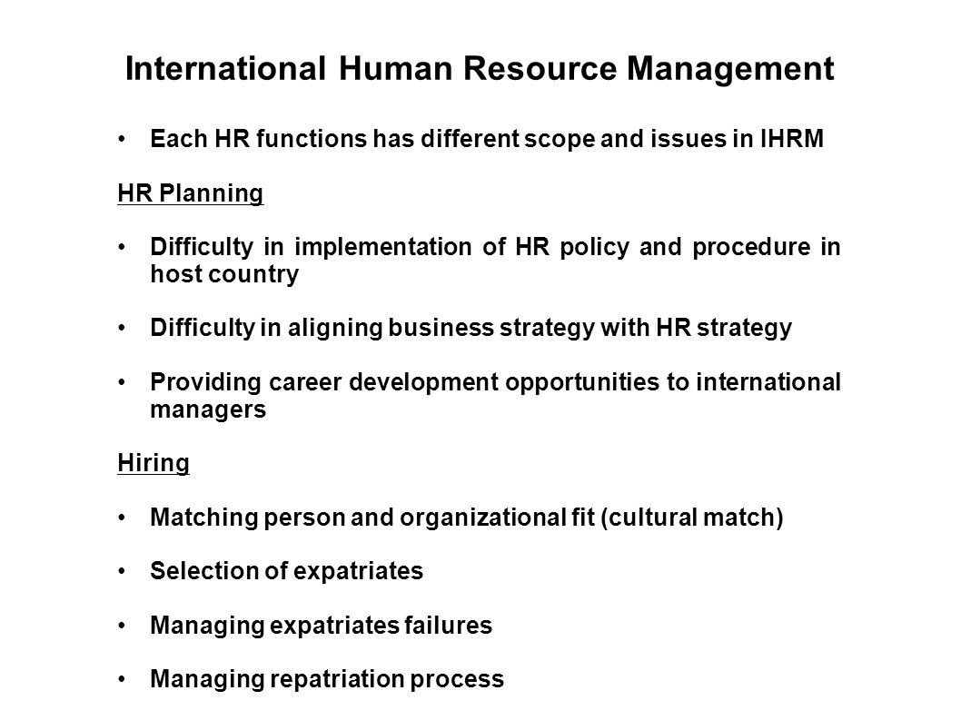 why do expatriates fail management essay Major causes of expatriate failure in international hrm are associated with sending expatriates to discuss anything and everything about essay.