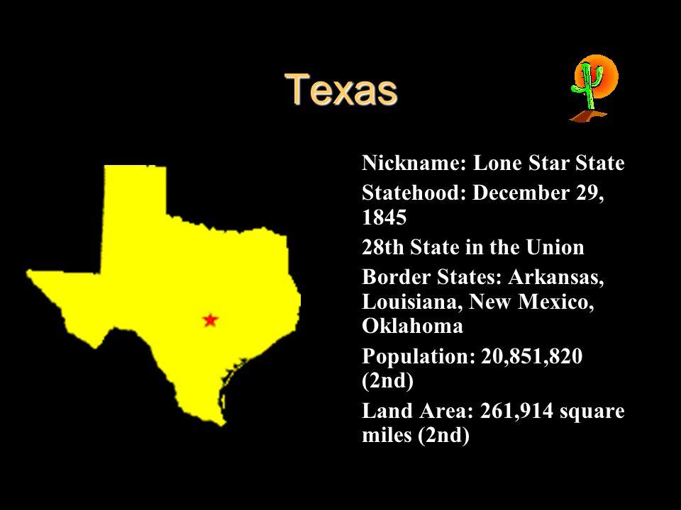 The American Southwest States and Capitals Arizona - Phoenix New ...