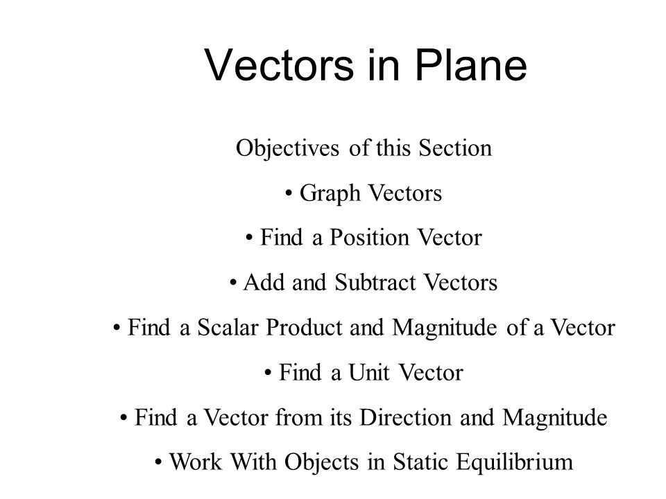 Subtracting vectors using unit vectors