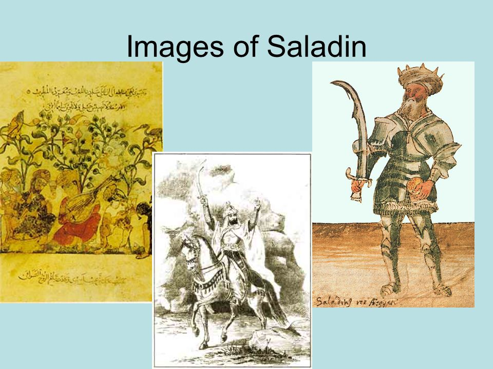 Images of Saladin