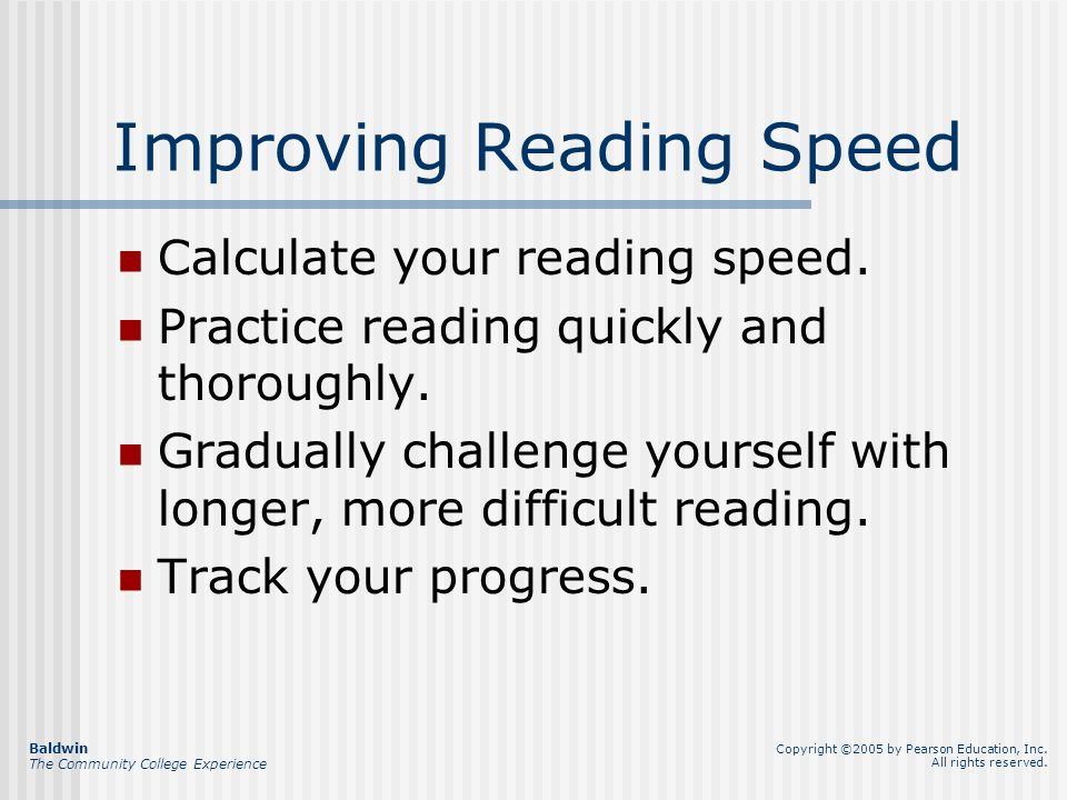 Chapter 7 College Reading Skills Handling reading assignments ...