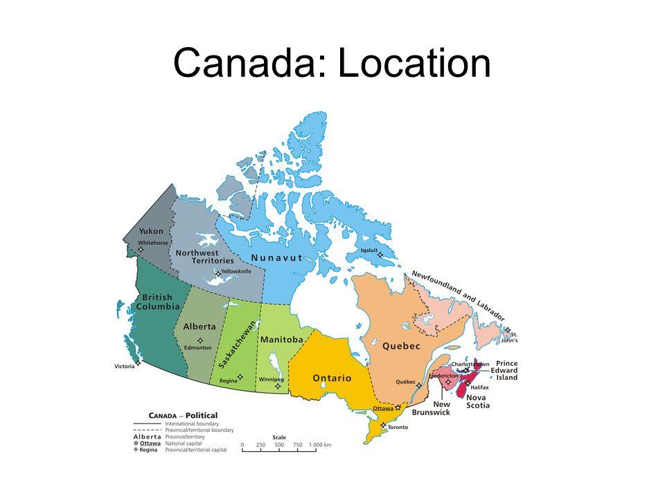Canada Location Climate Resources GPS EQ GPS SSGa - Canada location