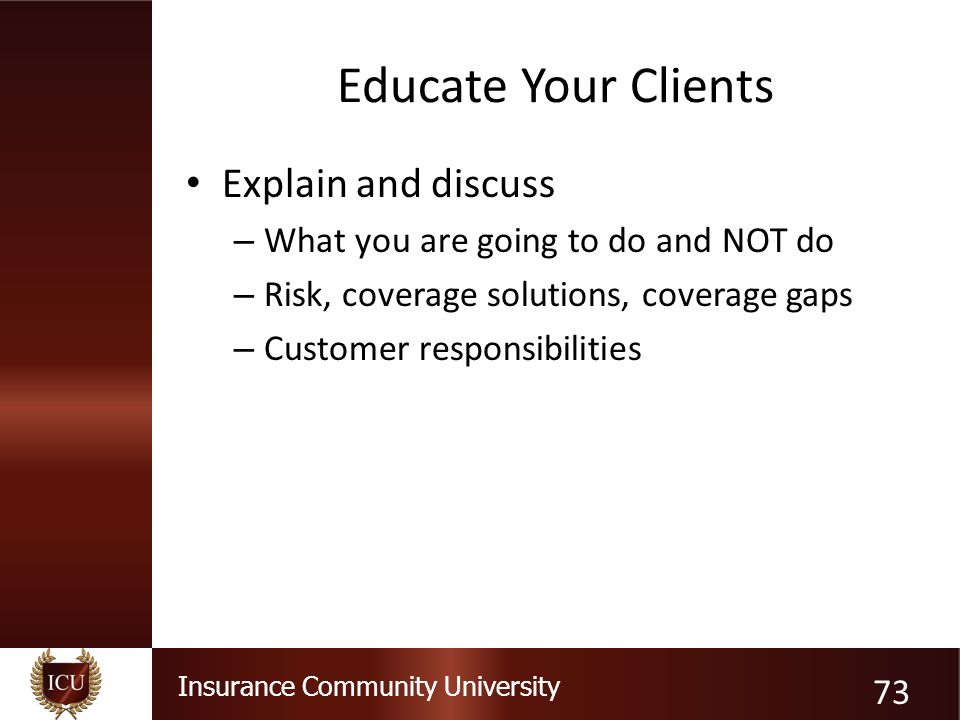 Insurance Community University 1 Insight on Errors & Omissions: A ...