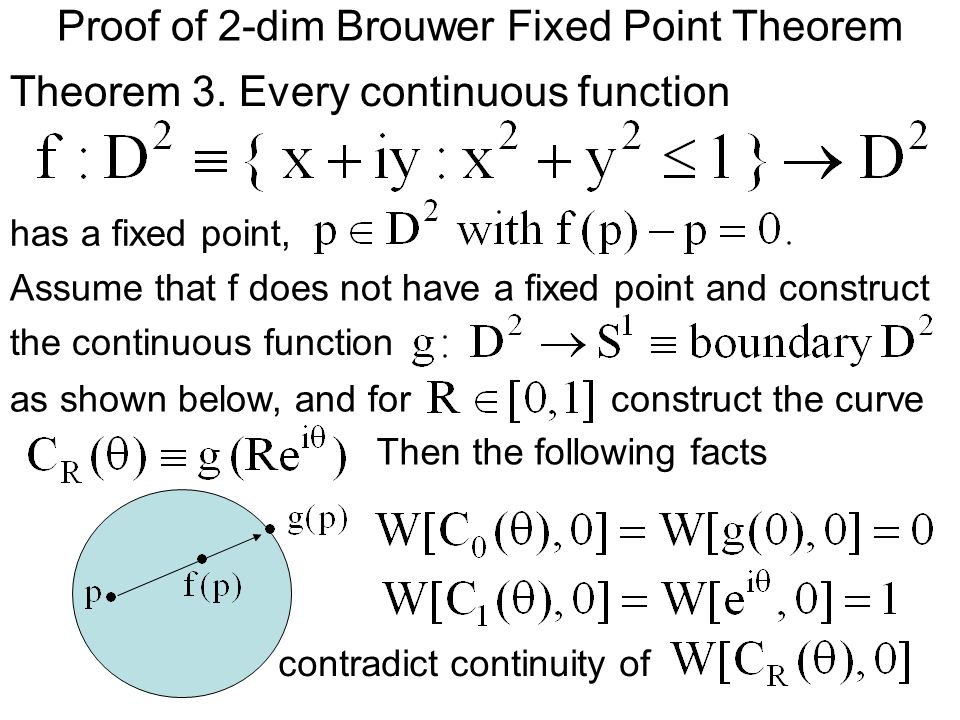 browder fixed point theorem