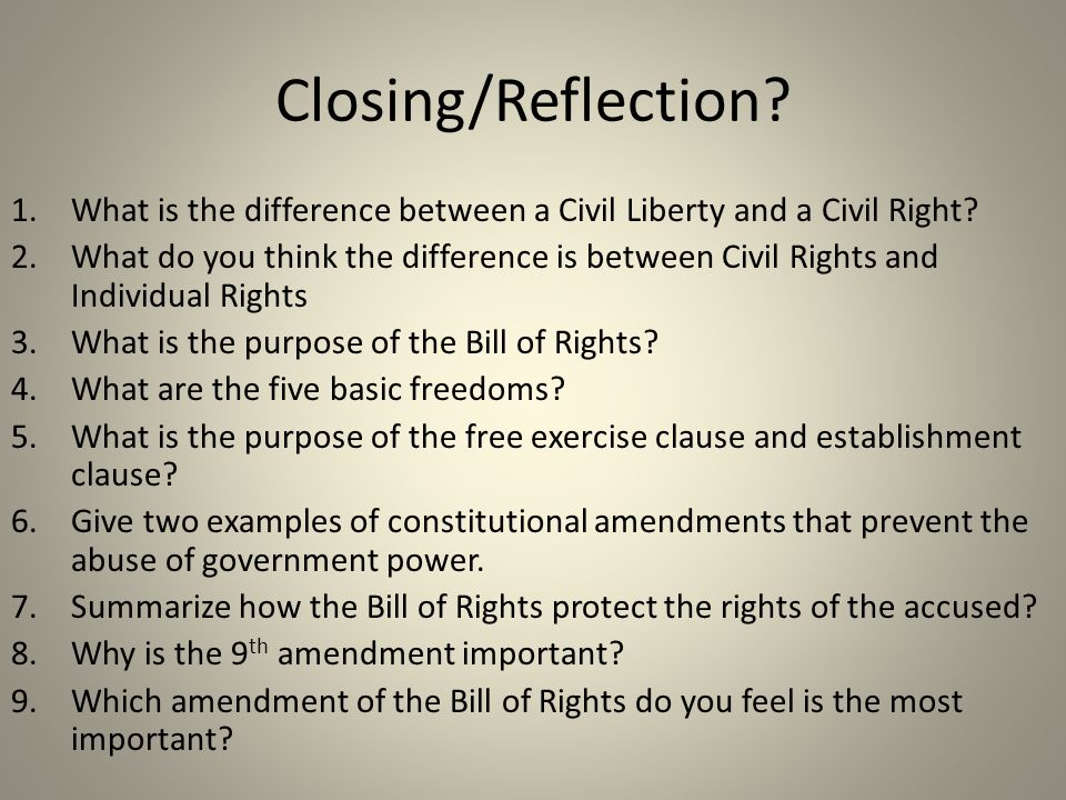 the differences between the bill of rights and the amendments The amendment process and bill of rights the constitution (article v) since the enactment of the bill of rights, the amendment process has been used sparingly.