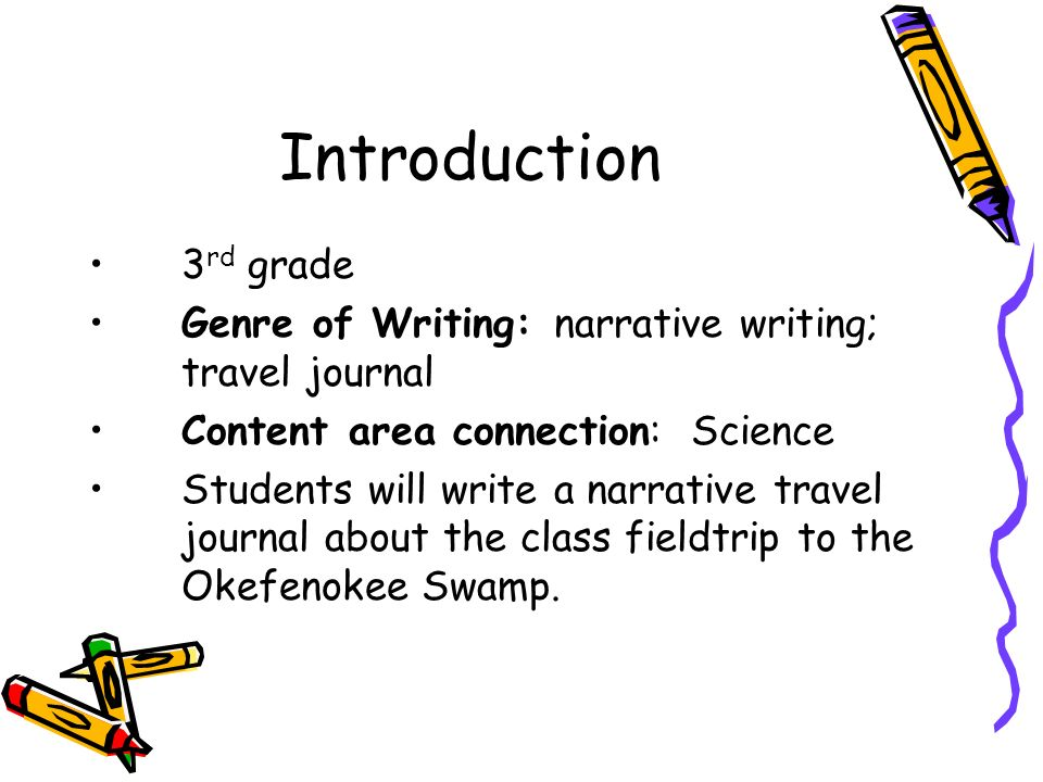 descriptive writing third grade