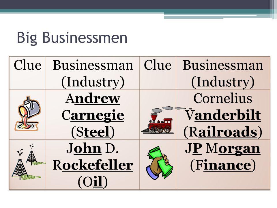 Big Businessmen