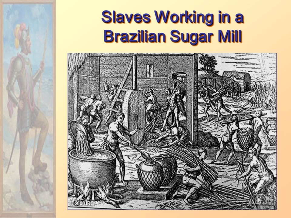Slaves Working in a Brazilian Sugar Mill