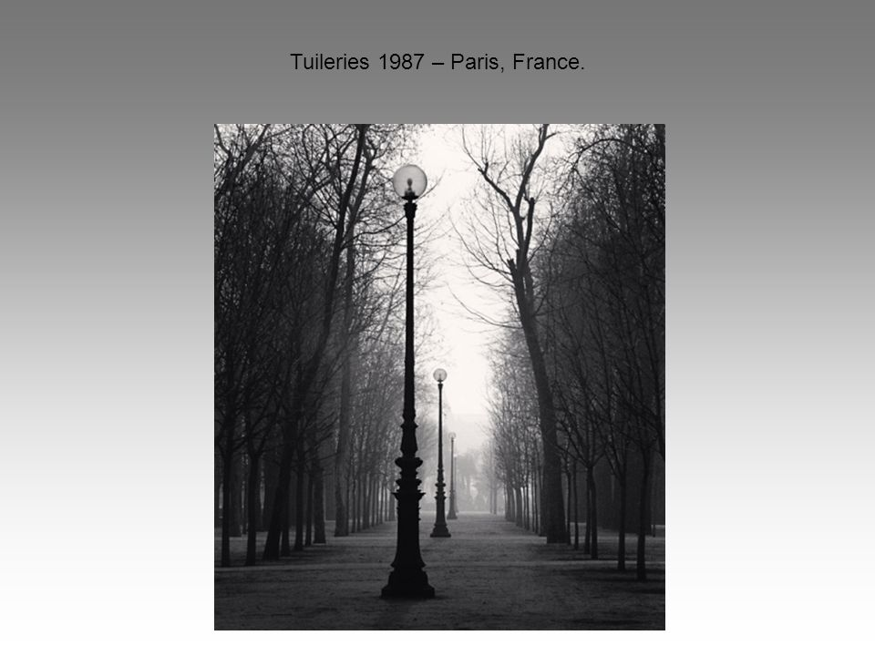 Tuileries 1987 – Paris, France.