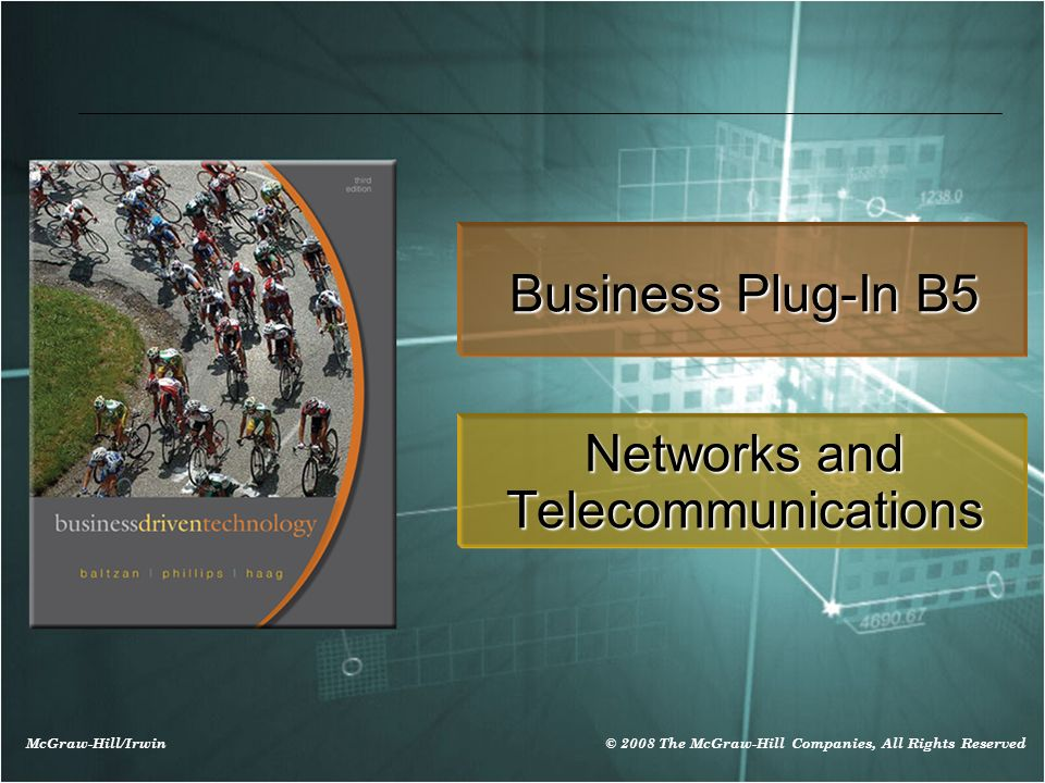 B5-22 Ethernet Ethernet - a physical and data layer technology for LAN networking (100 Megabits/second)
