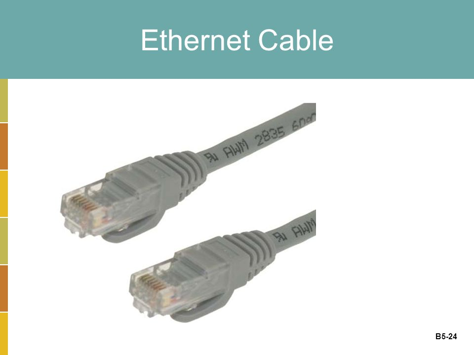 B5-24 Ethernet Cable