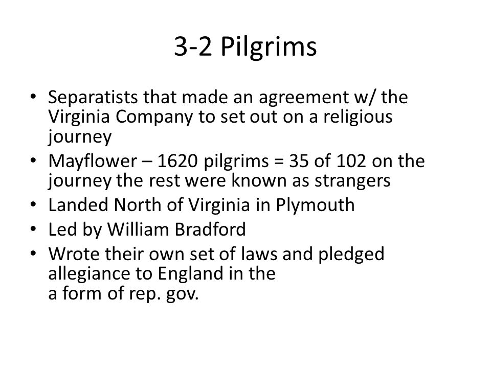 Chapter 3-2 New England Colonies. 3-2 Religious Freedom Religious ...